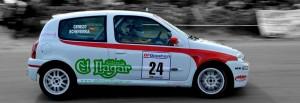 Renaul Clio Sport, conducido por la dupla Echeverría-Cerezo